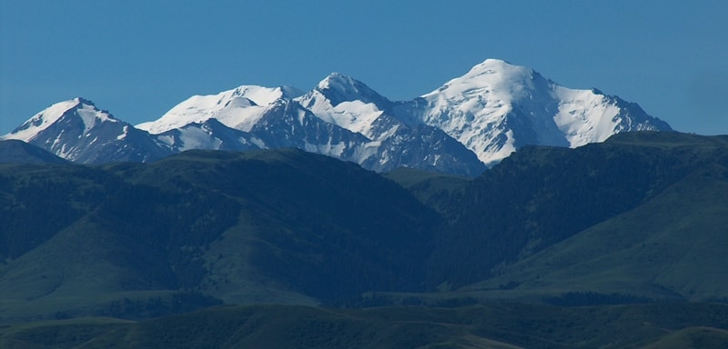 Dzhungarskiy Ala-Tau mountains.
