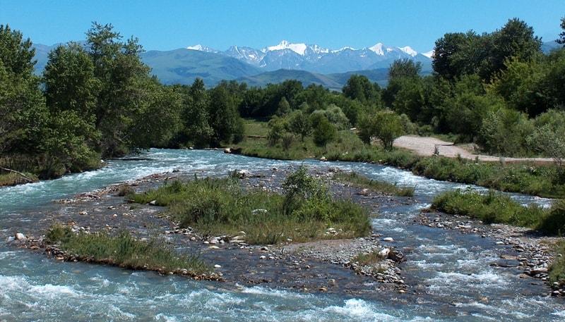 River Zhamanty.