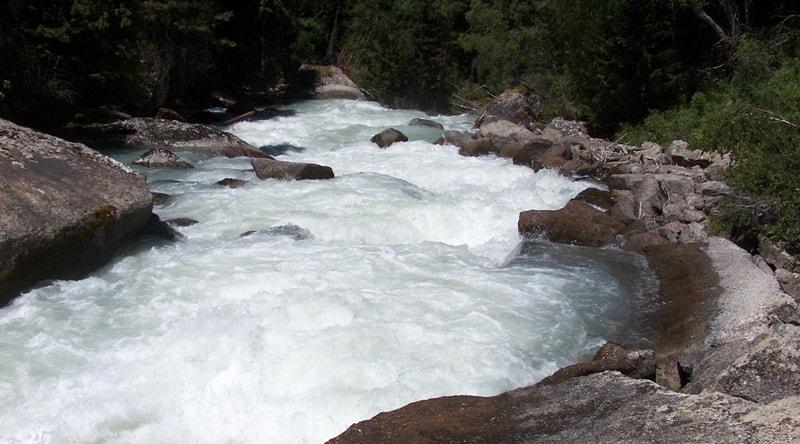 River Aganakty.