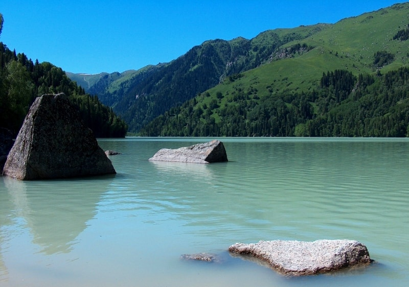 Озеро Жасылколь.