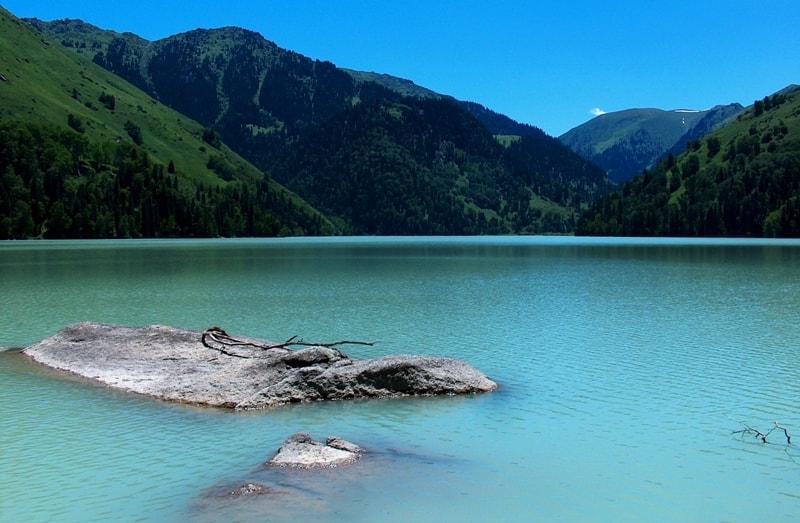 Zhasylkol lake.