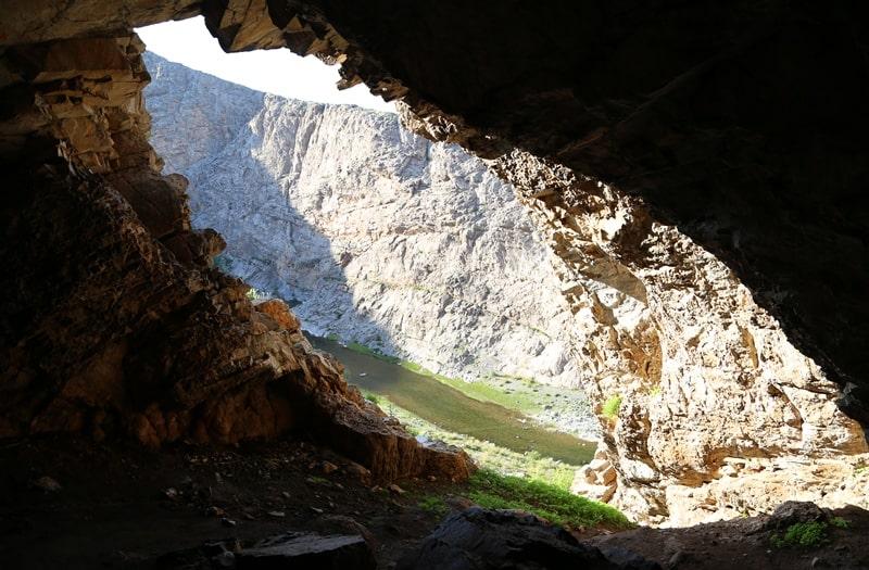 Пещера Актогай в горах Каратау.