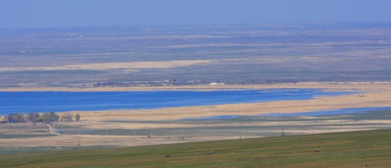 Lake Bilikol and environs.