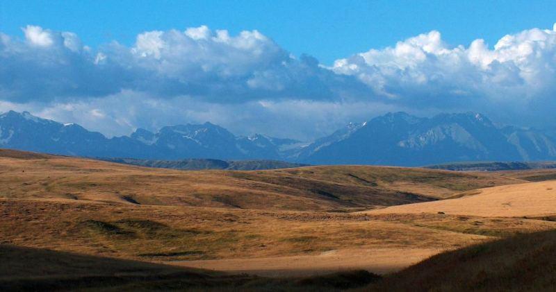 Talass Alatau mountains.