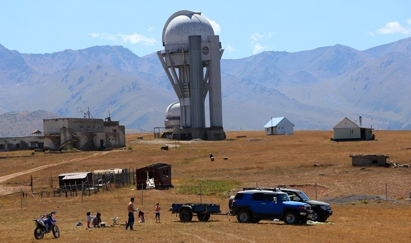 Observatory on the plateau of Asy.