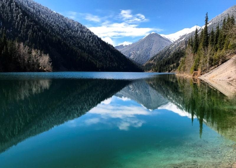 Kolsay lake.