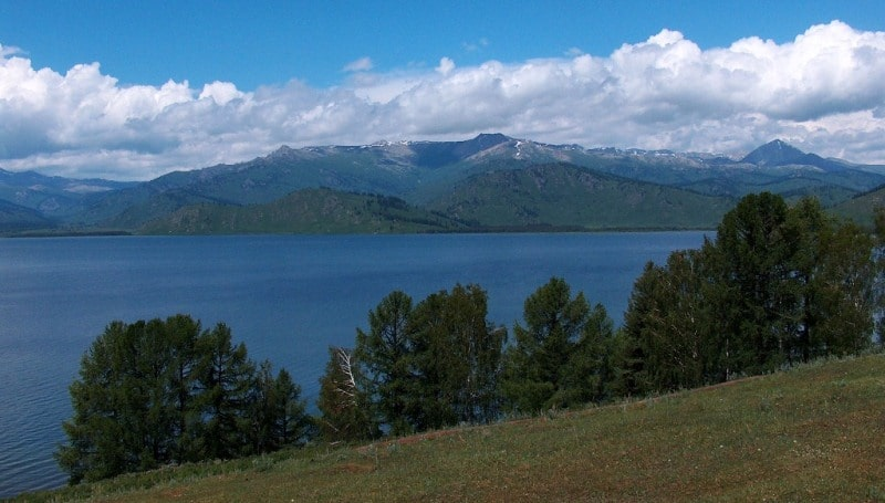"Sights on the ""Lakes of the Kazakhstan Altai"" tour."