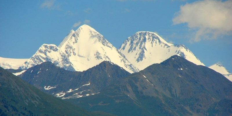 The mount Belukha.