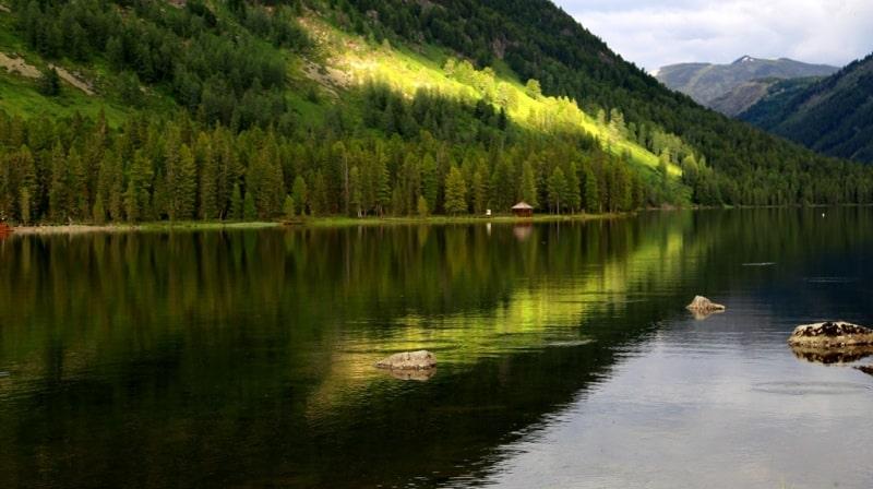 В окрестностях озера Рахмановского.