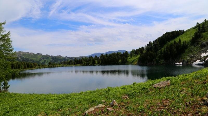 Kedrovoye lake in West-Altai reserve.