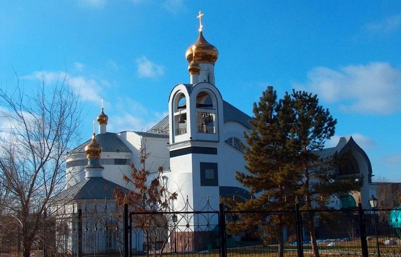 Andrey Pervozvannogo Orthodox temple in Dzhezkazgan.