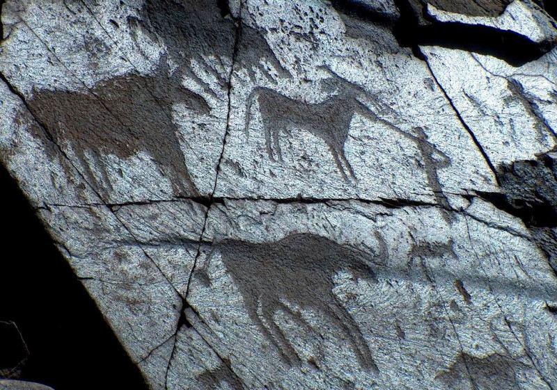 Petroglyphs Tamgaly.
