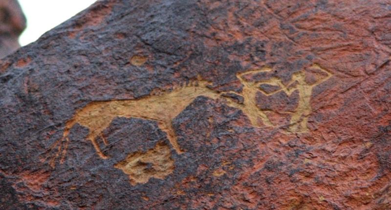 Petroglyphs Eshkiolmes.