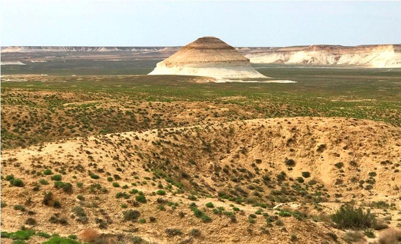 Гора Меловый конус, урочище Босжира.