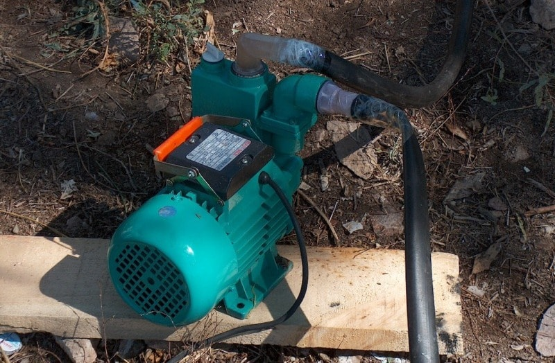 Water pump.