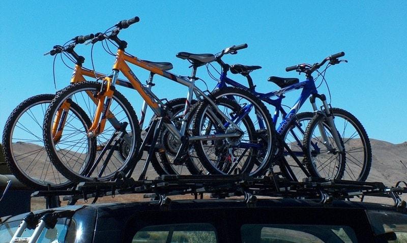 Транспортировка велосипедов.