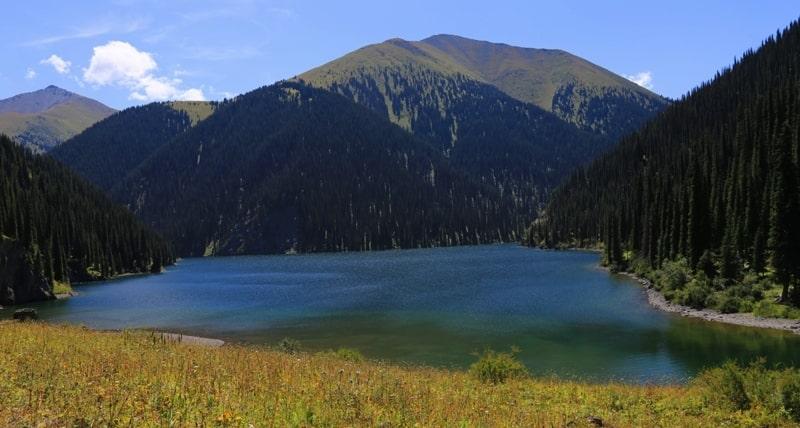 Озеро Кольсай - II. Кольсайский национальный парк.