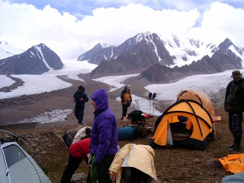 Last a overnight under pass of Tourists of 3339 meters above sea level.
