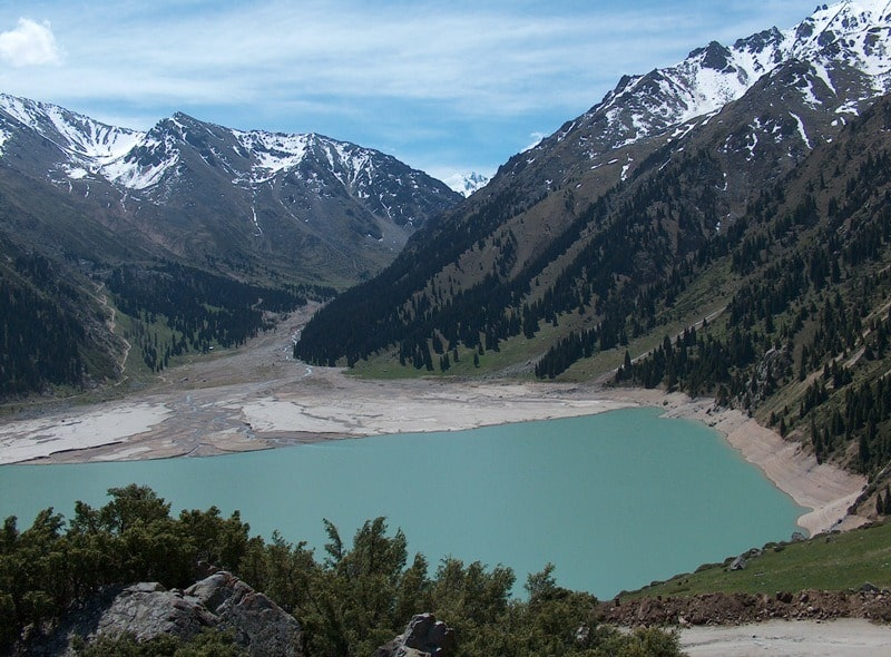Big Almaty lake.
