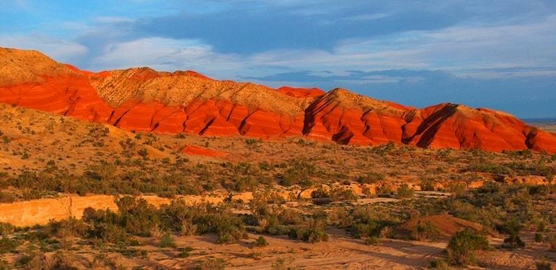 Палеонтологические горы Актау.