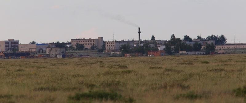 Поселок Балапан.