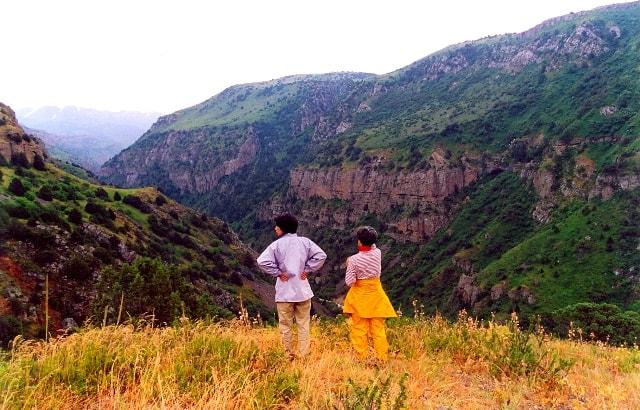 Смотровая площадка в каньоне Аксу.