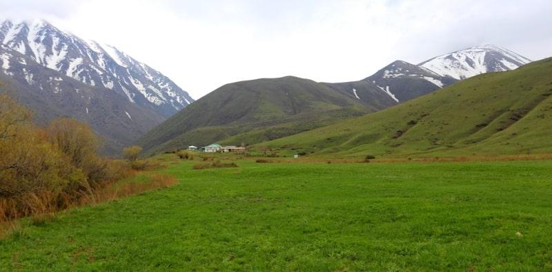 Koksai Gorge reserve Aksu-Jabagly.