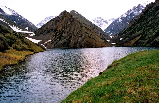 Mountain lake Koksai.