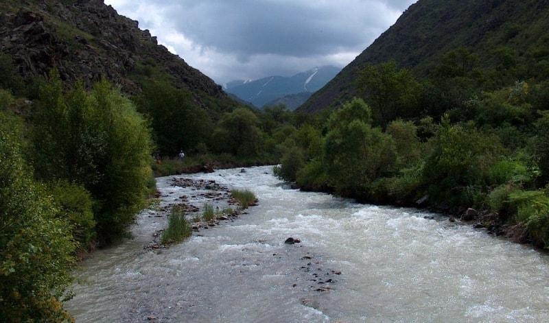 Река Кши-Каинды.