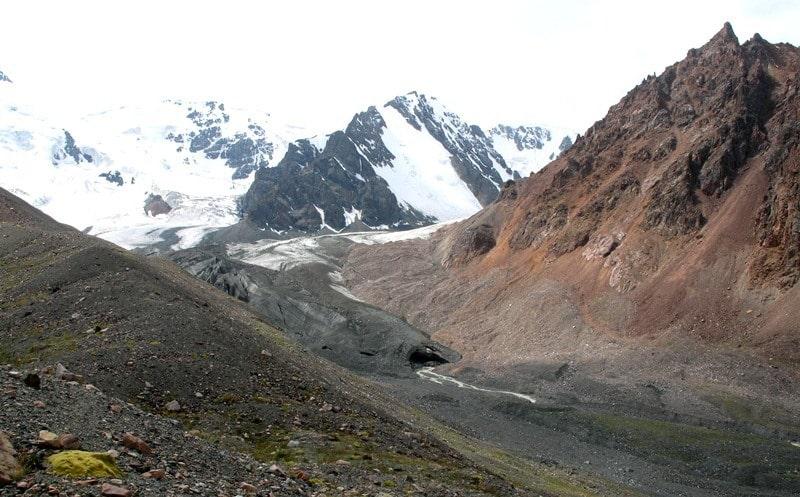 Природные достопримечательности окрестностей реки Правый Талгар.