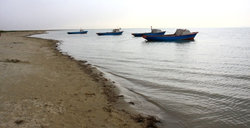 Окрестности урочища Барсакельмес. Аральское море.