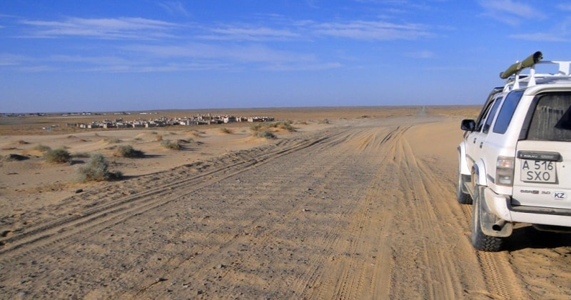 Окрестности заповедника Барса-Кельмес и Аральское море.