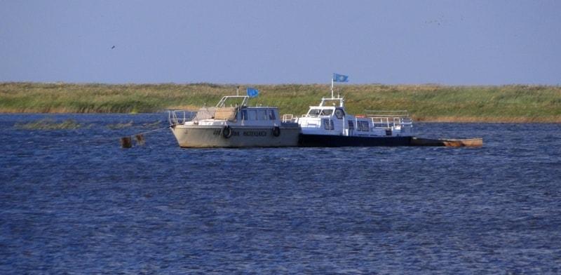 Окрестности заповедника Барс-Кельмес и Аральское море.