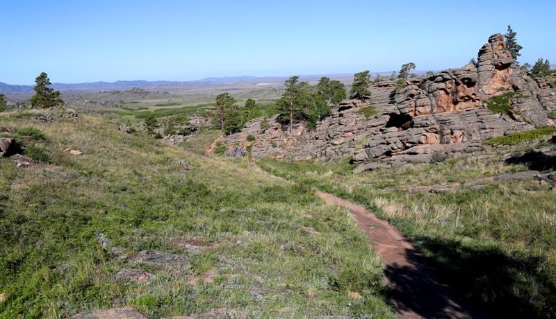 Окрестности пещеры Аулиетас.