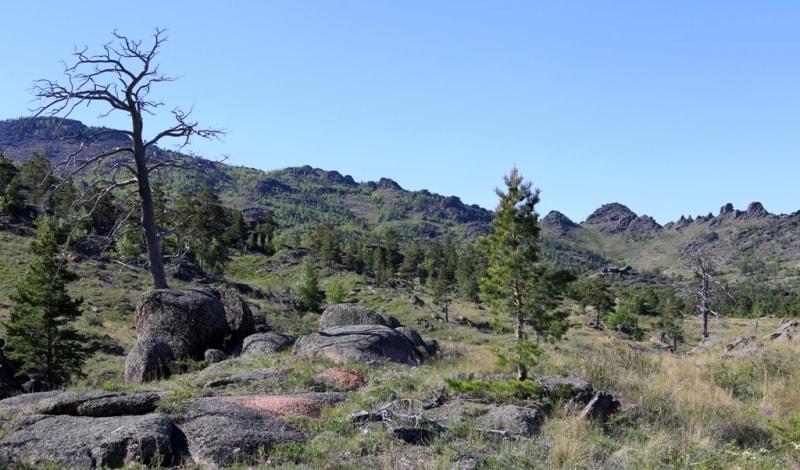 Mountains Bayanaul.