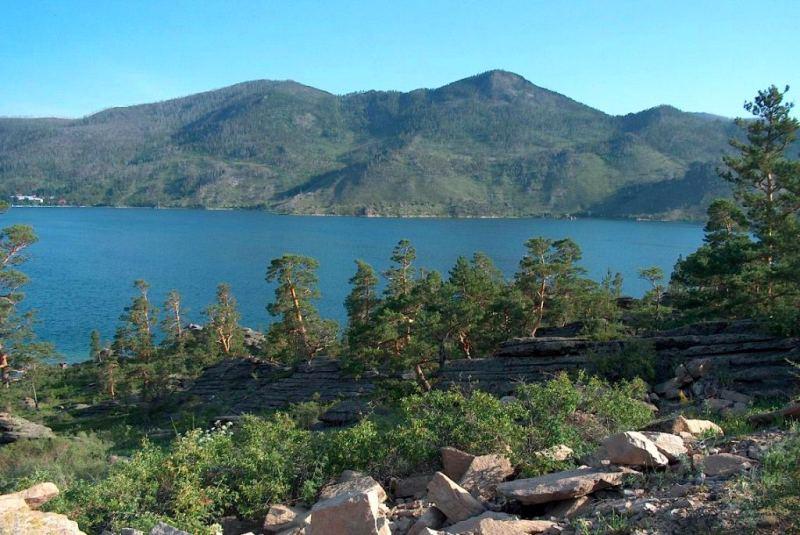 lake Zhasybai.