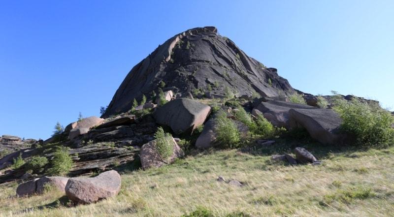 Mountain Naizatas in Bayanaul.