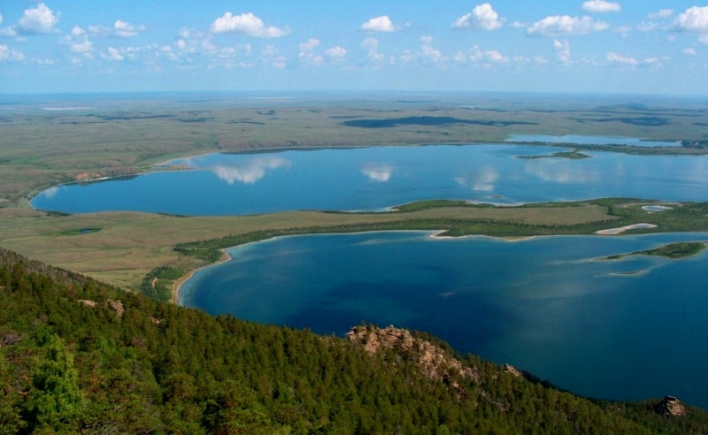lake Chebachye.