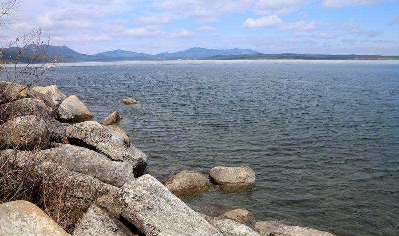 Озеро Щучье в парке Боровое.