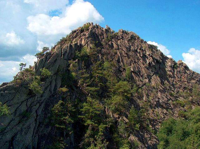 Окрестности горы Кокше.