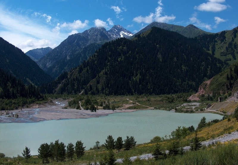 Lake Issyk.