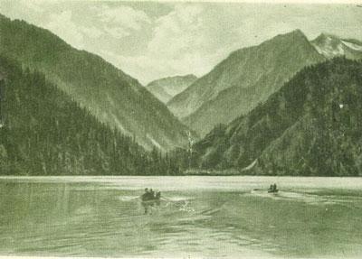 Озеро Иссык до 1963 года.