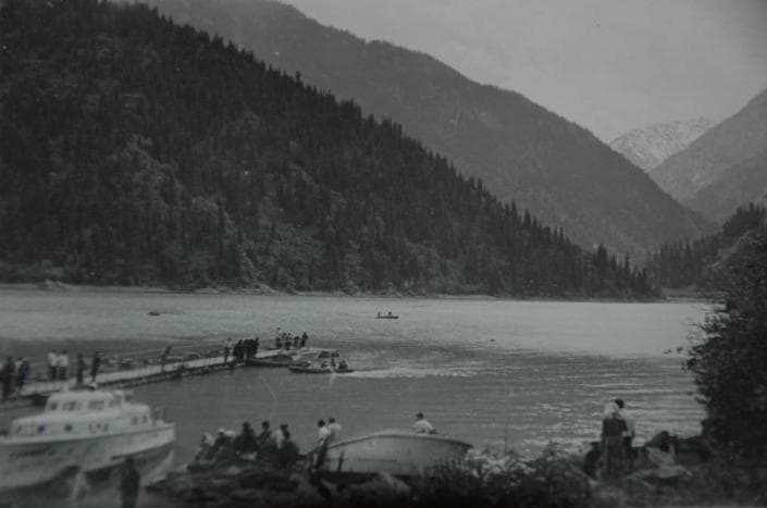 Lake Issyk 1962.
