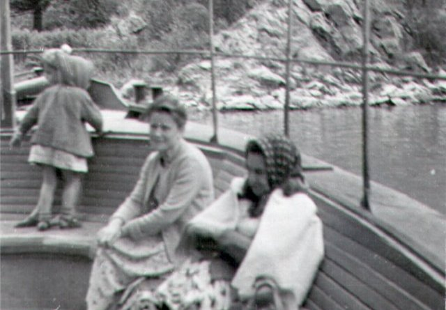 Having a rest on lake Issyk up to lodging 1963.