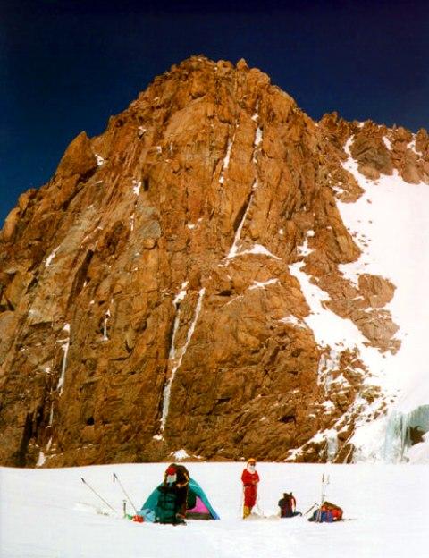 Karaulchitau peak.