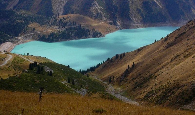 Big Almaty lake.