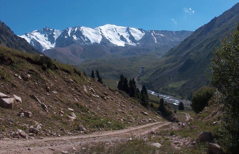 Big Almaty gorge.