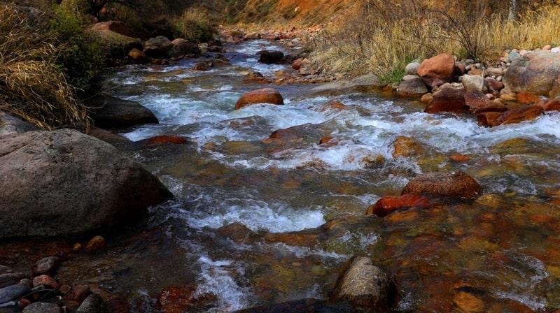 Река Каскелен.
