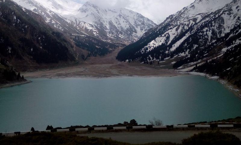 Vig Almaty Lake.