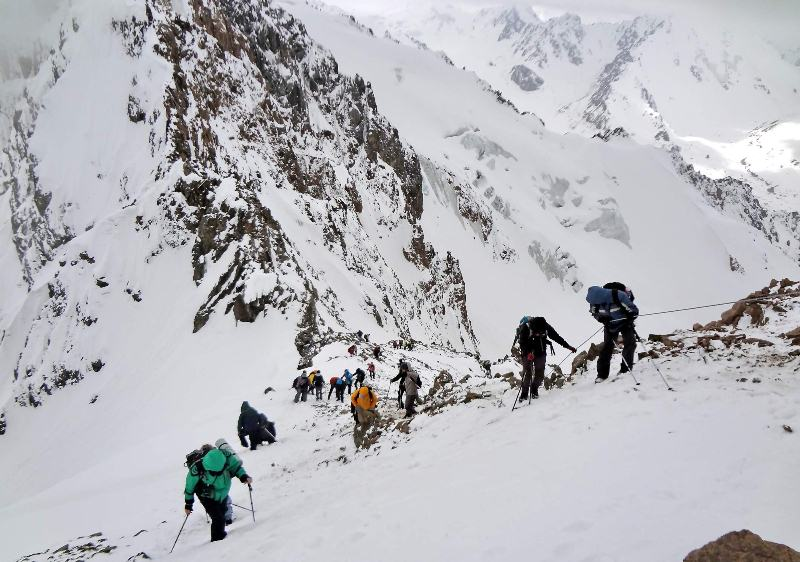 Альпиниада на пик 28-ми героев Панфиловцев.